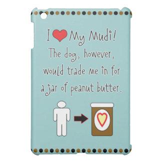 My Mudi Loves Peanut Butter iPad Mini Covers