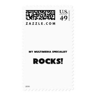 MY Multimedia Specialist ROCKS! Postage