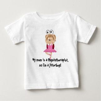 My mum is a physiotherapist jitterbug t-shirt