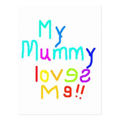 My Mummy Loves Me Postcard