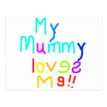 My Mummy Loves Me Postcards