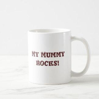 My Mummy Rocks Classic White Coffee Mug