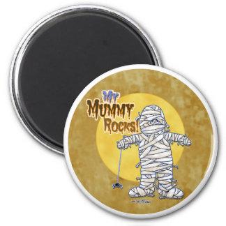 My Mummy Rocks Magnet