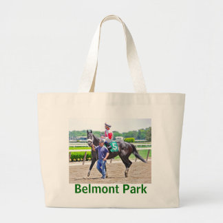 My Music Gal wins at Belmont Park Large Tote Bag