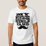 My mustache brings all the girls tshirts