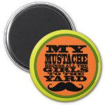 My Mustache Fridge Magnets