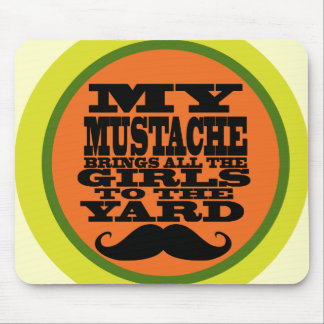 My Mustache Mouse Pad