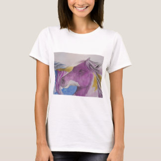 My Mustang Portrait in Pastels T-Shirt