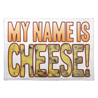 My Name Blue Cheese Cloth Placemat