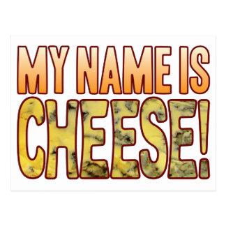 My Name Blue Cheese Postcard