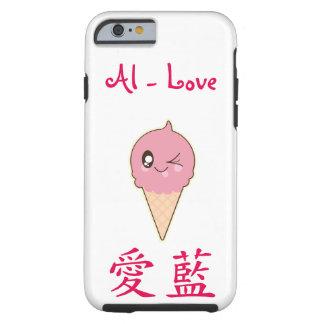 My name in Japanese Kawaii Tough iPhone 6 Case