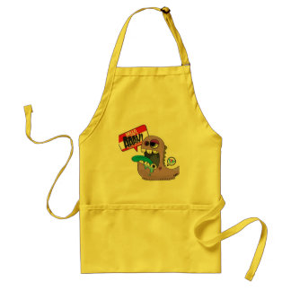 My name is Aaah ! Adult Apron