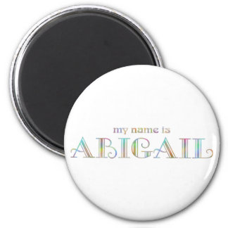 My name is Abigail Magnet