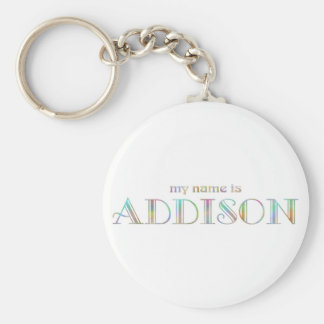 My name is Addison Keychain