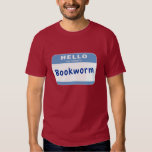 My name is Bookworm (Large) T-Shirt