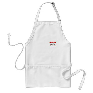 My name is DaDa Adult Apron