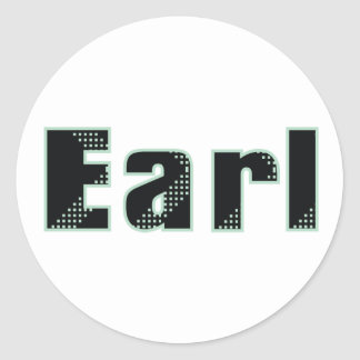 My name is Earl Classic Round Sticker