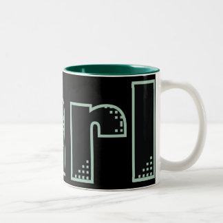 My name is Earl Two-Tone Coffee Mug