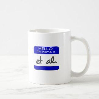My name is et al classic white coffee mug