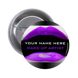 My Name Is For Make-Up Artists Button