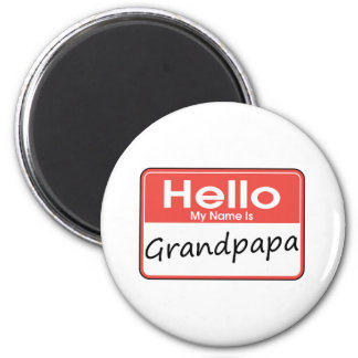 My Name is Grandpapa Magnet