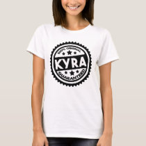 My Name is Kyra Cute Gifts for Girls Named Kyra T-Shirt