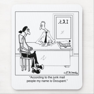 My Name is Occupant Mouse Pad