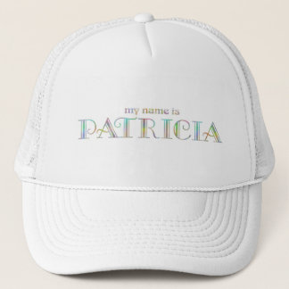 My name is Patricia Trucker Hat