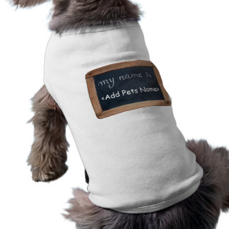 My name is - Personalized Pets Clothing