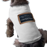 My name is - Personalized Pets Clothing Dog Tee Shirt