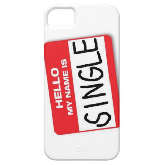 My name is single iPhone SE/5/5s case