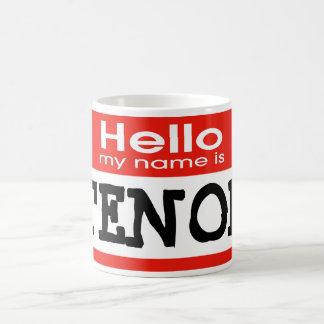 My Name is TENOR Classic White Coffee Mug