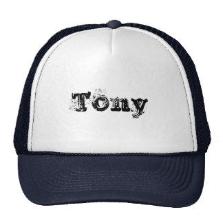 My Name is Tony Trucker Hat