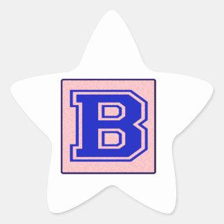 My name starts with B Sticker