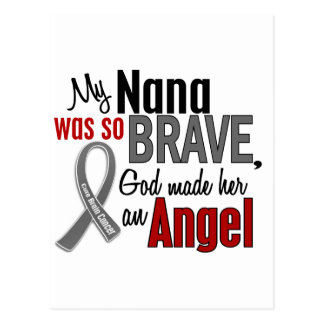 My Nana Is An Angel 1 Brain Cancer Postcards
