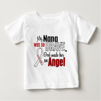 My Nana Is An Angel Lung Cancer Baby T-Shirt