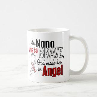 My Nana Is An Angel Lung Cancer Coffee Mug