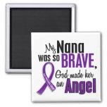 My Nana Is An Angel Pancreatic Cancer Refrigerator Magnet