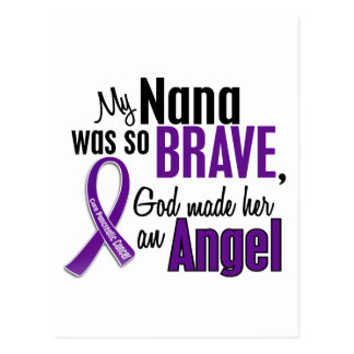 My Nana Is An Angel Pancreatic Cancer Postcard