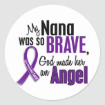 My Nana Is An Angel Pancreatic Cancer Sticker