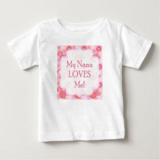 My Nana Loves Me Onsie Tshirts