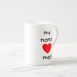 my nana loves me tea cup