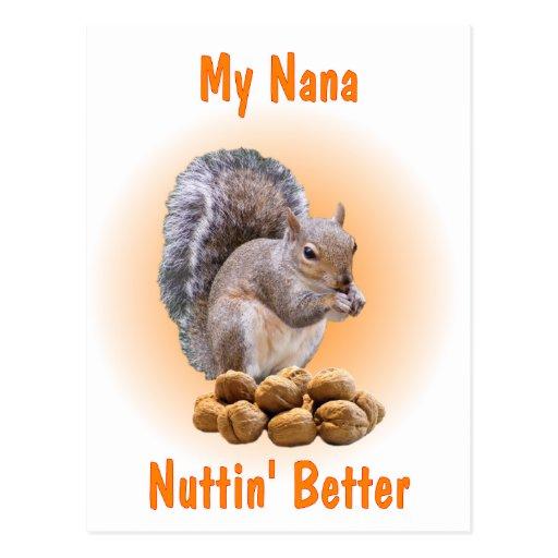 My Nana Postcard
