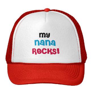 My Nana Rocks T-shirts and Gifts Trucker Hat