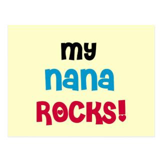 My Nana Rocks T-shirts and Gifts Postcard