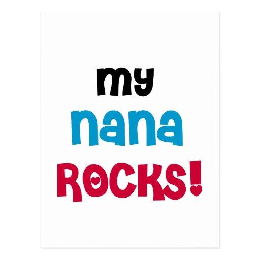 My Nana Rocks T-shirts and Gifts Post Cards