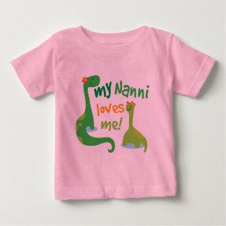 My Nanni Loves Me Dinosaur T Shirt