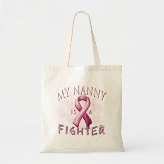 My Nanny is a Fighter Pink Tote Bag