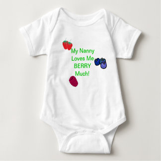 My Nanny Loves Me Berry Much! Romper