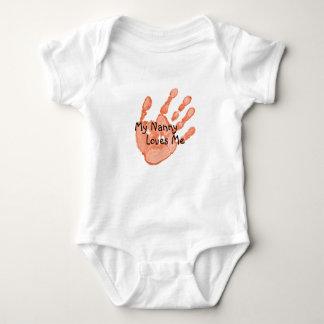 """""""My Nanny Loves Me""""-Orange Shirt"""